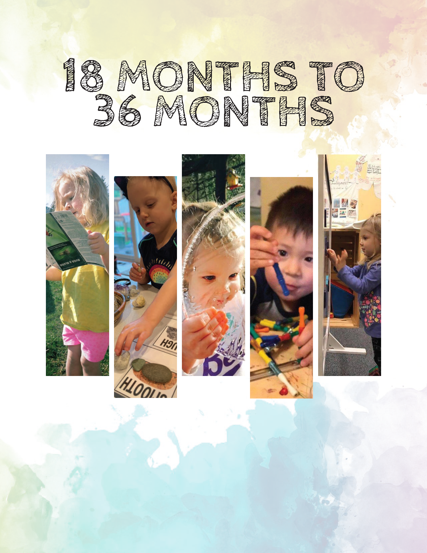 Alaska Early Learning Guidelines 18 to 36 Months Cover
