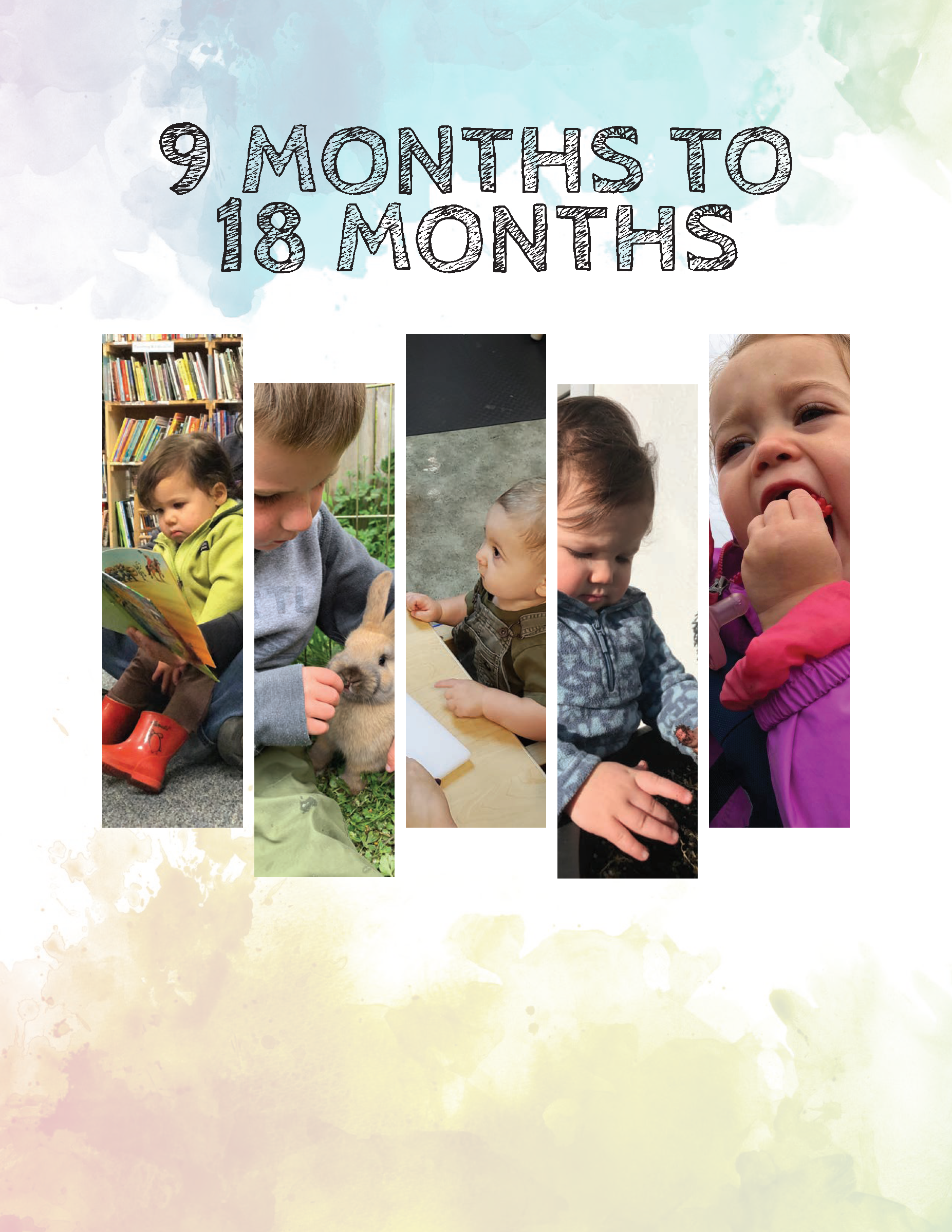 Alaska Early Learning Guidelines 9 to 18 MonthsCover