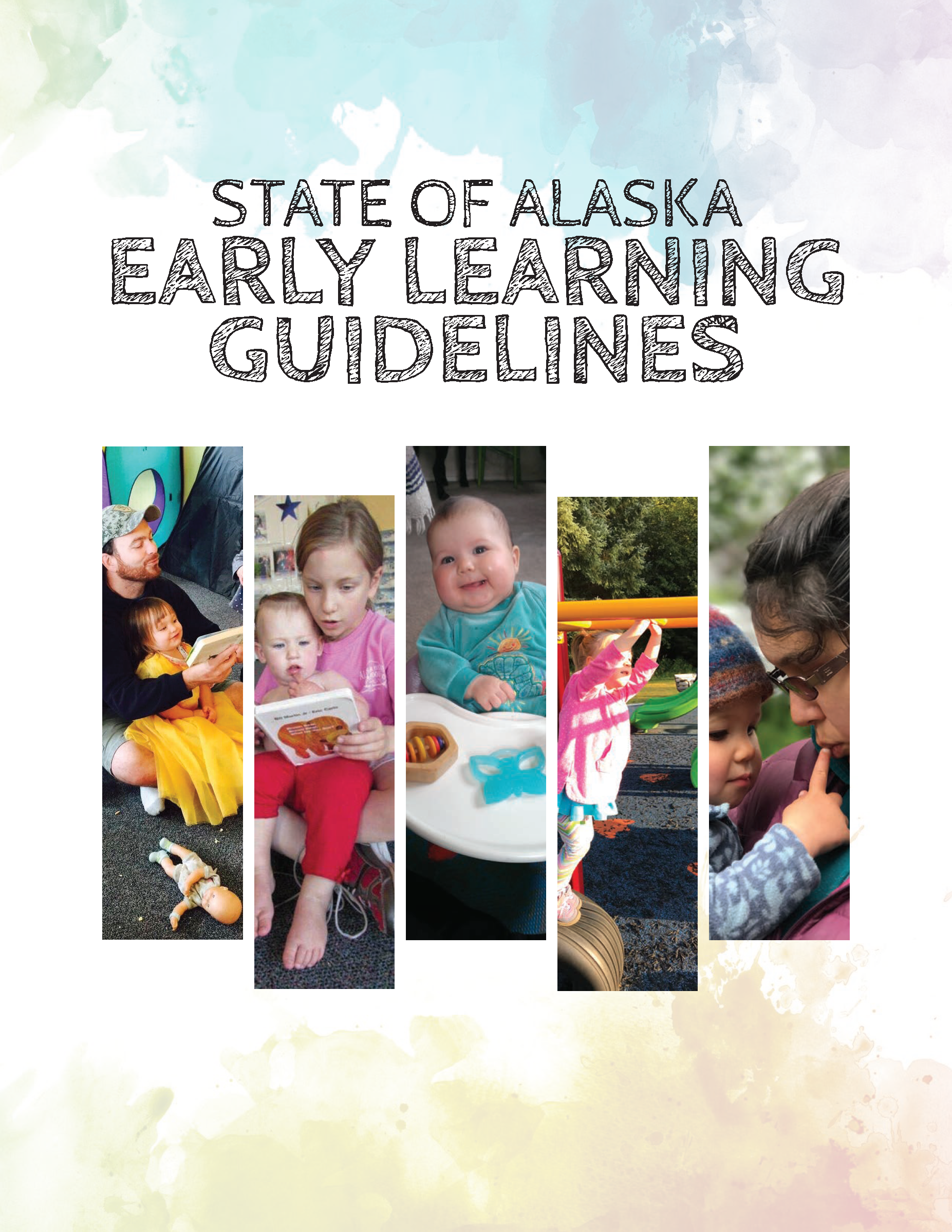 Alaska Early Learning Guidelines Cover